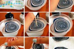 Создание рисунка для водного маникюра
