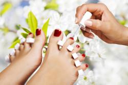 Нанесение биогеля на ногти