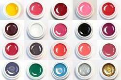 Основные цвета гель краски для ногтей