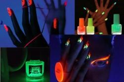 Флуоресцентный лак на ногтях