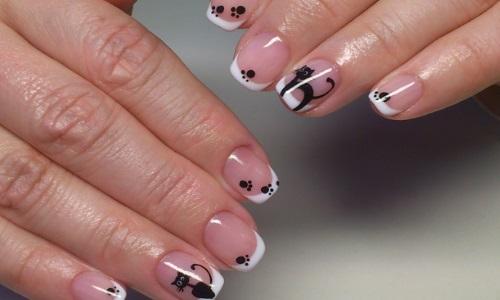 Аккуратные ногти после удаления кутикулы