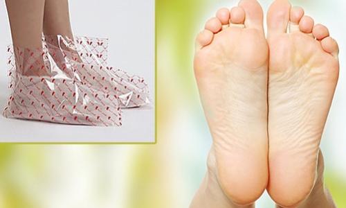 Японские ухаживающие носочки для педикюра