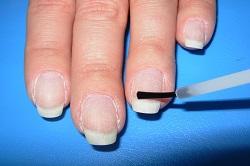 Лаковое покрытие ногтей