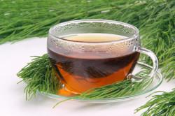 Чай из хвоща для укрепления ногтей
