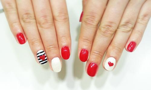 Дизайн ногтей с шеллаком