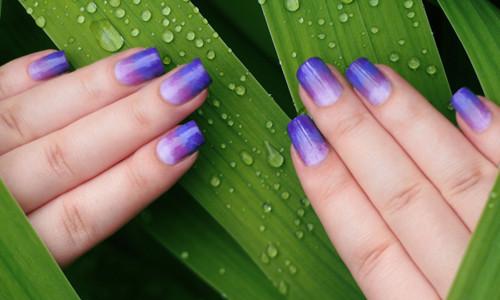 Дизайн ногтей с переливом