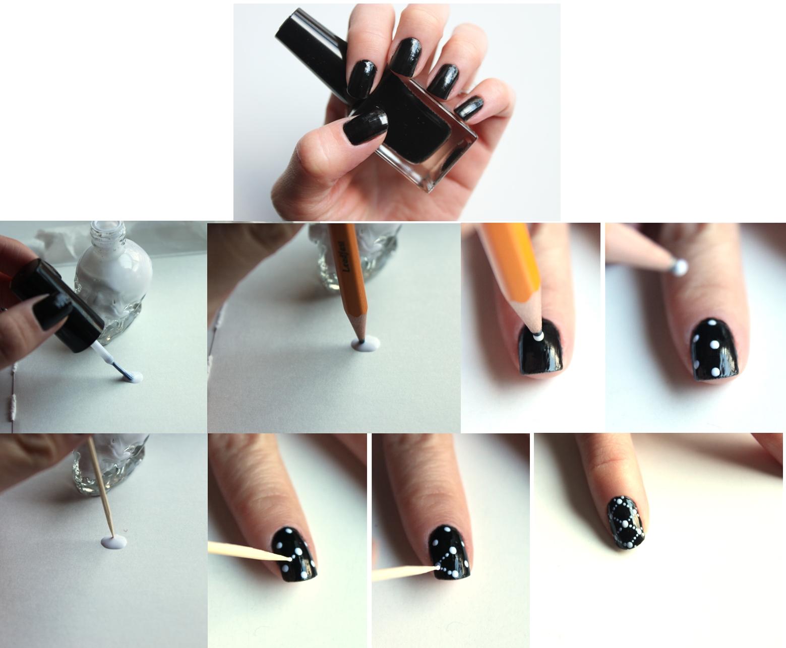Как накрасит ногти в домашних условиях видео