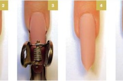 Технология наращивания ногтей на форме