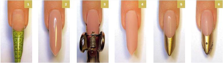 Технология наращивания ногтей гелем в домашних условиях
