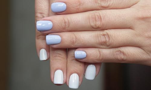 Термолак на ногтях