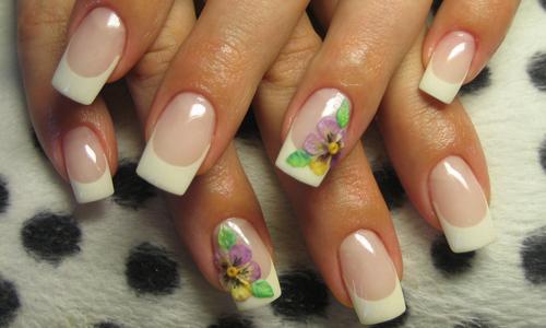 Удлиненные ногтевые пластины
