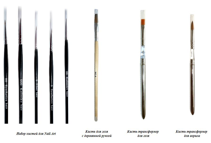 Как сделать кисть для дизайна ногтей