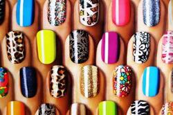Виды узоров на ногтях