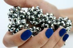 Песочный дизайн ногтей