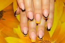 Желто-черный френч