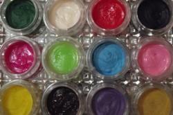 Цветной акрил для лепки