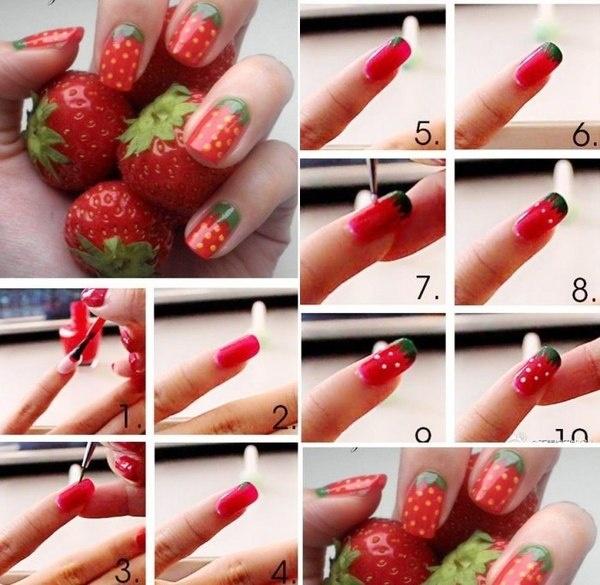 Дизайны ногтей пошаговые инструкции