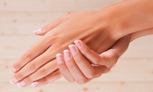 Ногти, покрытые гелем
