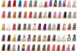 Дизайны пленки для ногтей