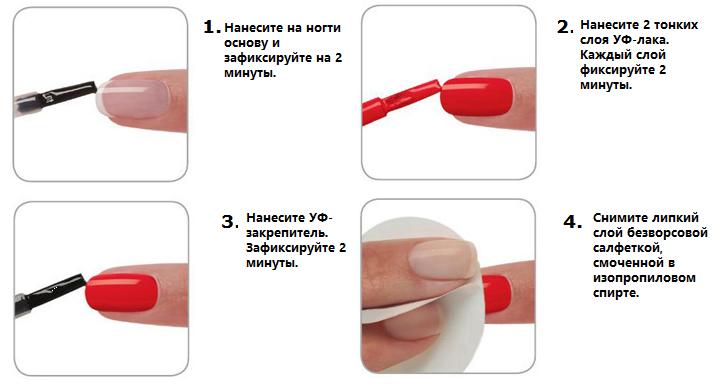 Как правильно сделать маникюр с гель лаком
