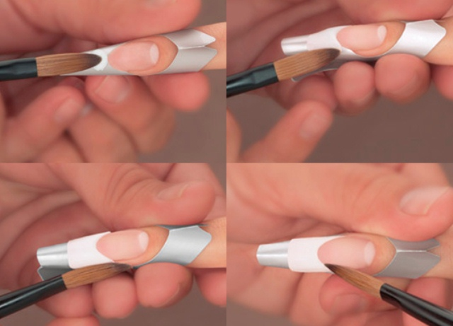 френч на ногтях пошаговая инструкция с фото