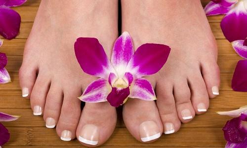 Ухоженные ногти на ногах