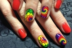 Слайдеры для всей поверхности ногтя