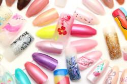 Ассортимент типсов на ногти