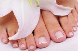 Ухоженные ножки - результат педикюрных носочек