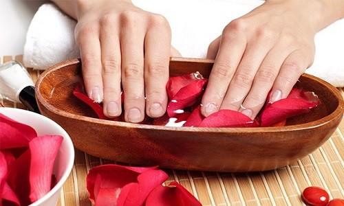 Оздоровительные ванночки для ногтей