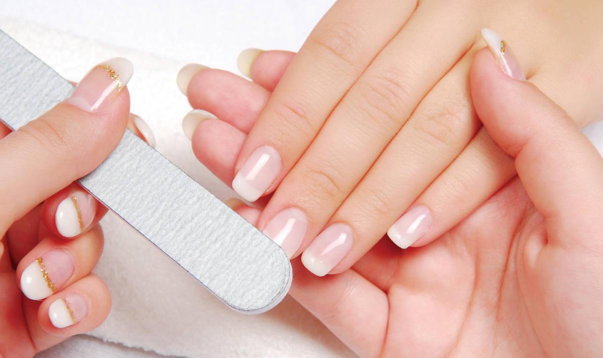 Запиливание ногтевой пластины