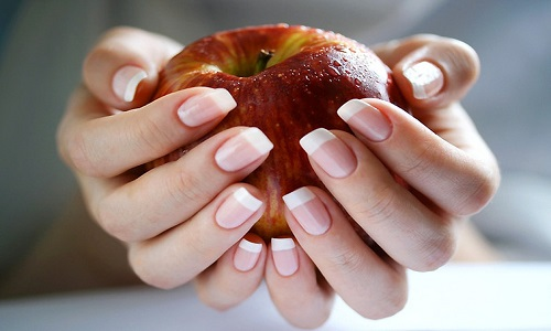 Здоровые ногти после лака