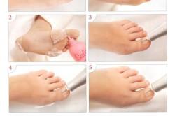 Этапы аппаратного педикюра