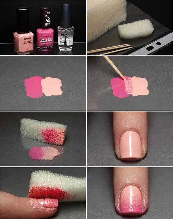 Как правильно красить ногти разными лаками