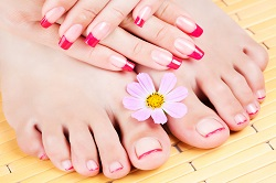 Уход за ногтями на ногах