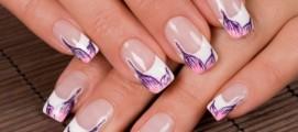 Как в домашних условиях клеить накладные ногти