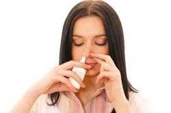 Спреи и капли при заложенности носа