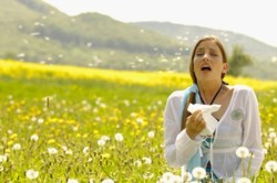Аллергия как причина кашля