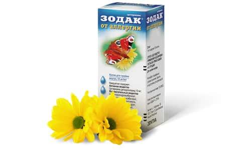 Зодак применяется при таких заболеваниях, как: аллергический ринит, крапивница, аллергический дерматоз