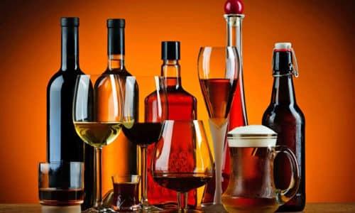 При гипотиреозе запрещено употреблять алкоголь