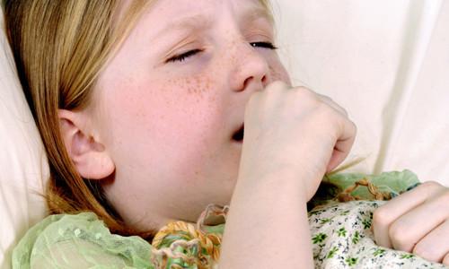 Проблема сухого кашля у детей