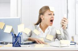 Стресс как причина выделений с прожилками крови