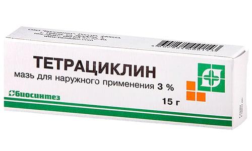 Тетрацикиновая мазь представляет группу бактериостатических антибиотиков широкого спектра действия