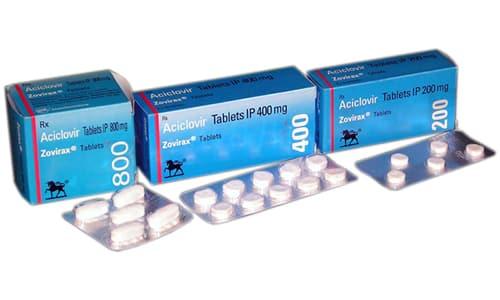 Герпес на головке или другой части полового члена требует системного приема противовирусных препаратов, например, Ацикловира
