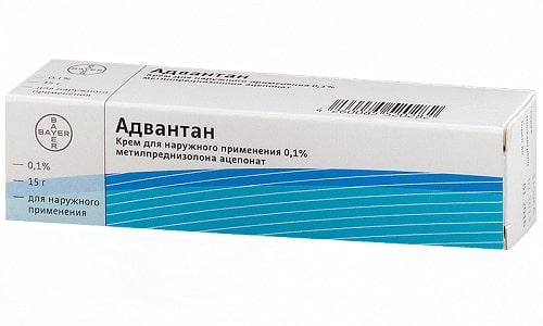 Адвантан имеет минимум побочных эффектов: если применять его коротким курсом, то мазь практически не всасывается в кровоток