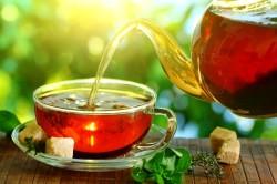 Крепкий чай при поносе