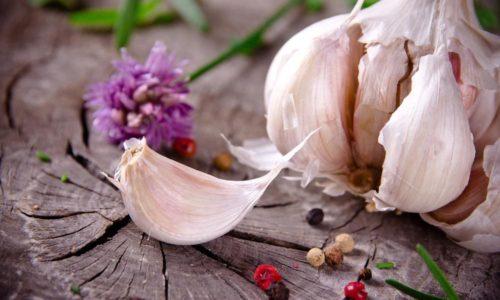 Чеснок - действенный продукт при терапии герпеса