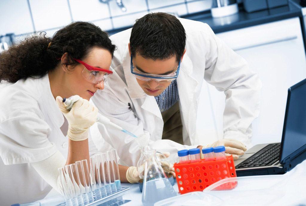 диагностика в лаборатории
