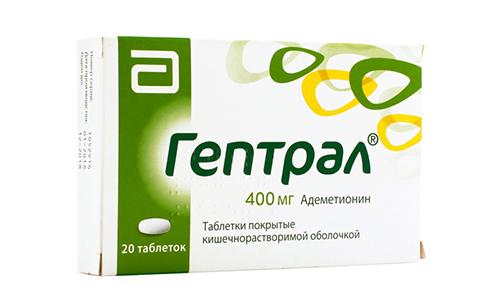 Гептрал поможет восстановить клетки печени, очистить ее и нормализовать отток желчи