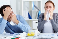Грипп - причина заложенности носа